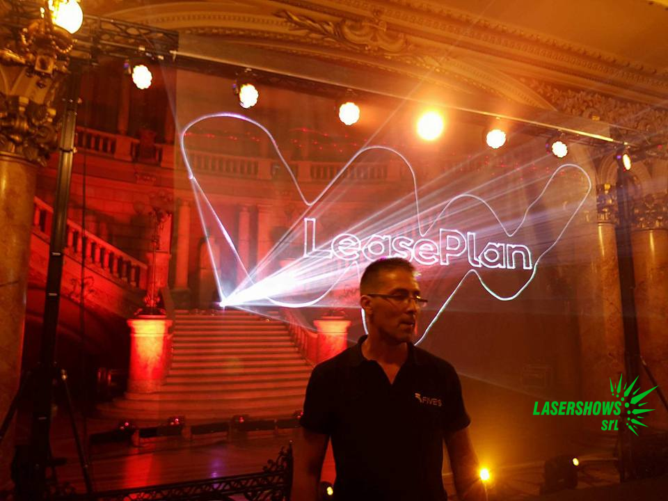 Atheneum Bucharest Laser for the Lease Plan Party